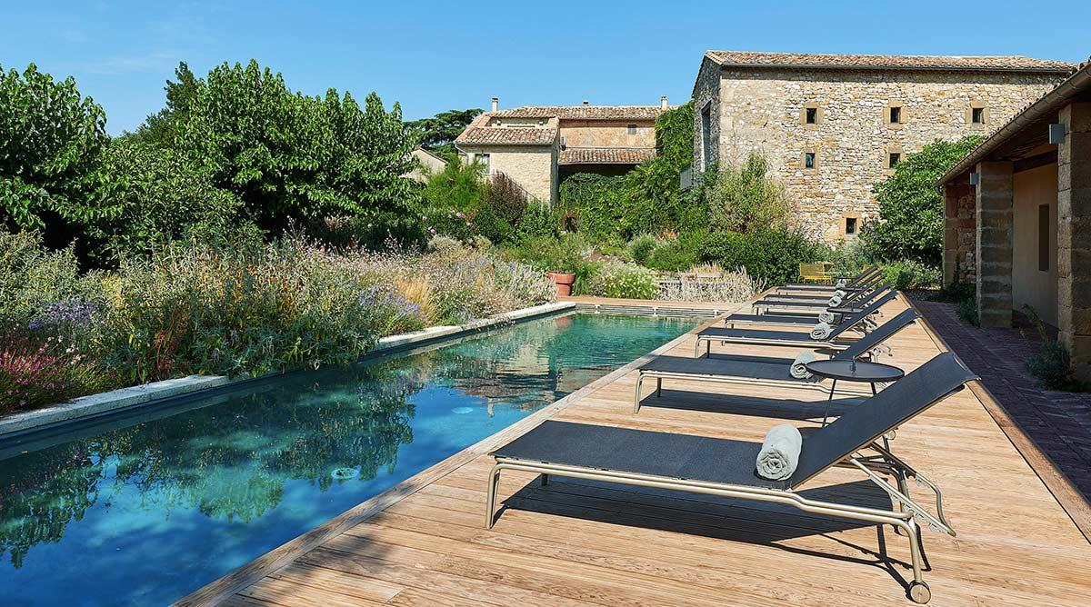 Id e d co d corer le tour de sa piscine promo piscine bois - Revetement ideal pourtour de piscine ...